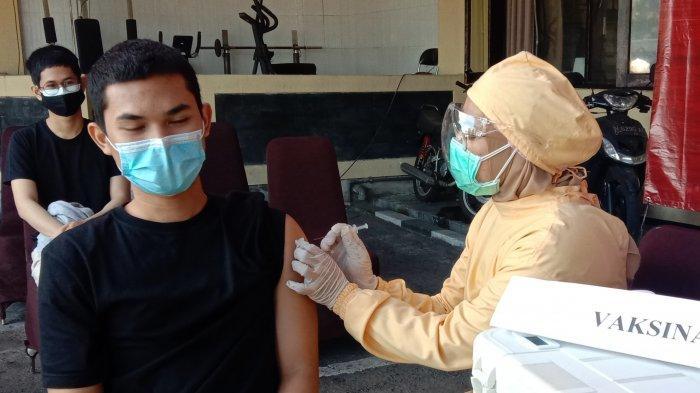 Kejar Herd Immunity, Polresta Malang Kota Lakukan Vaksinasi Massal Untuk Ormas