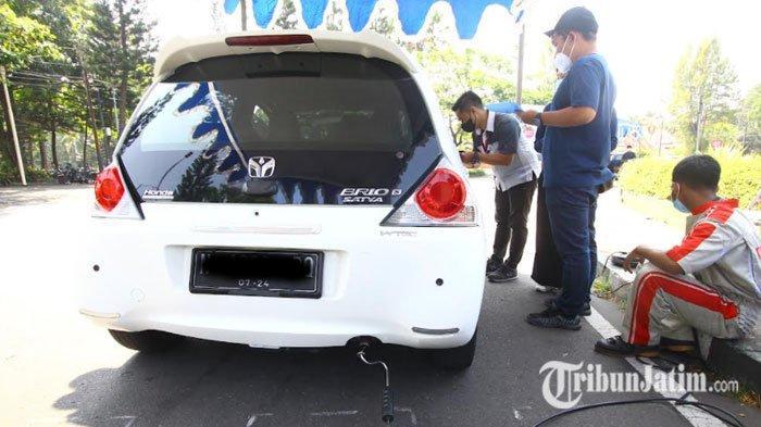 Mulai Hari Ini, DLH Kota Malang Gelar Uji Emisi Gas Buang Kendaraan di Jalan Simpang Balapan