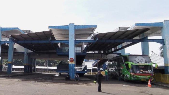Hanya Ada 6 Bus AKDP yang Beroperasi di Terminal Arjosari Kota Malang saat Penyekatan