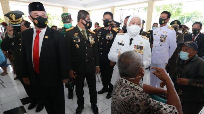 Gubernur Jatim Apresiasi Kesigapan TNI dalam Taktik Percepatan Penanganan Pandemi Covid-19