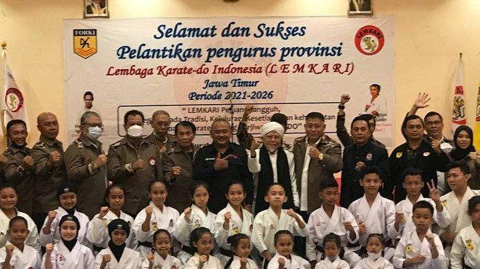Usai Dilantik, Ketua Lemkari Jatim Pasang Target Tinggi di Kejuaraan Panglima
