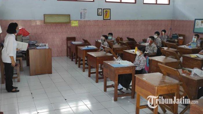 Hingga Pekan Ketiga, Pembelajaran Tatap Muka di Kota Blitar Lancar, Belum Ada Laporan Covid-19
