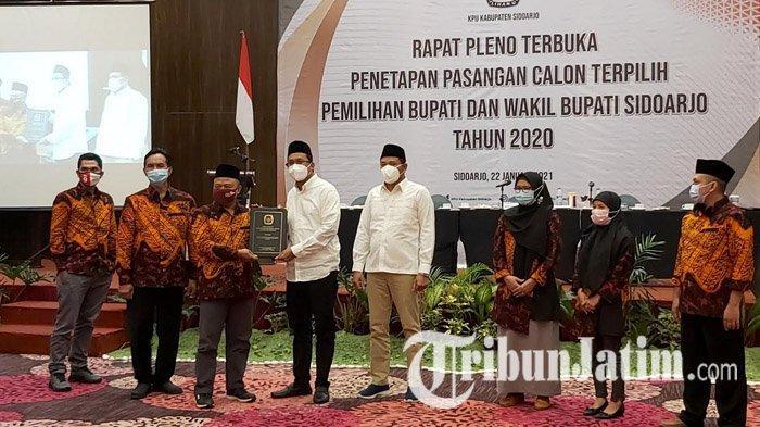 Sudah Ditetapkan KPU, Muhdlor-Subandi Selangkah Lagi Resmi Jadi Bupati dan Wakil Bupati Sidoarjo