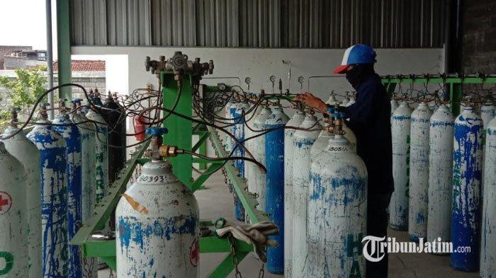 Oksigen di Surabaya Terus Langka, Warga Sampai Kebingungan Mencari