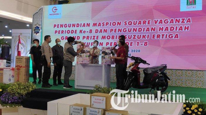 Wujud Terima Kasih kepada Pelanggan, Maspion Square Undi Hadiah Grand Prize Mobil