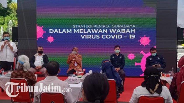 Wali Kota Risma Diminta Tekan Angka Kematian Pasien Covid-19, di Surabaya Didominasi Kasus Komorbid