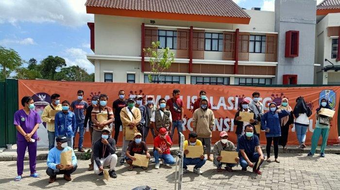 Wisuda Kedua, Rumah Isolasi OTG Bangkalan Sembuhkan 27 Pasien Covid 19