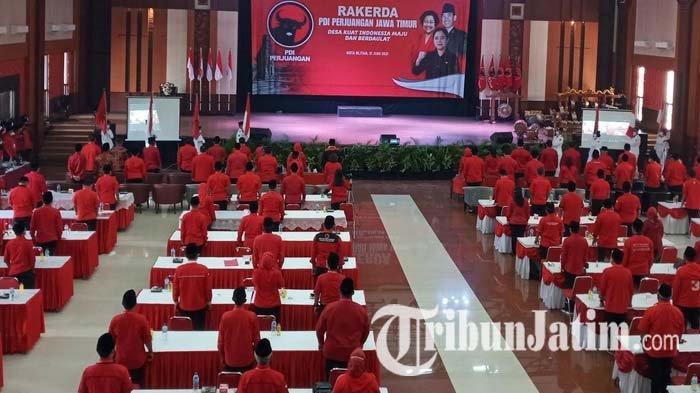 Hasil Rakerda di Kota Blitar, DPD PDIP Jatim Usulkan Puan Maharani Jadi Capres di Pemilu 2024
