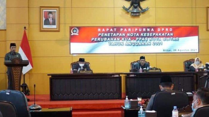Pemkot Blitar Alokasikan Rp 41 Miliar untuk Penangan Covid-19 di Perubahan APBD 2021