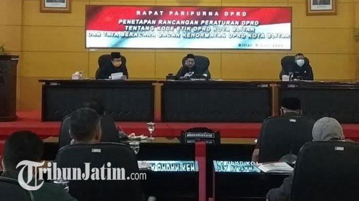 DPRD Kota Blitar Tetapkan Kode Etik & Tata Beracara Badan Kehormatan, Atur Sanksi Kesalahan Dewan