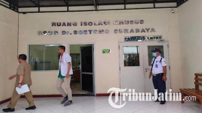 BREAKING NEWS: Pasien Covid-19 Gangguan Jiwa Pukul Pasien Seruangan di RS Dr Soetomo Surabaya