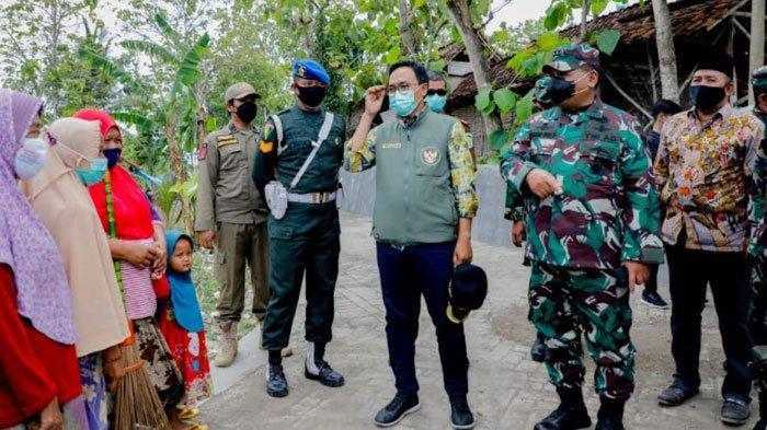 Bupati Pamekasan Blusukan Bareng Jenderal TNI, Pantau Pembangunan Pavingisasi dan Rutilahu