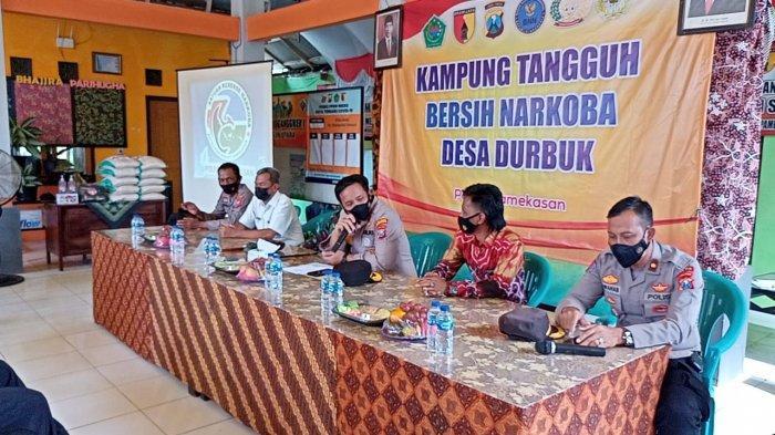 Polres Pamekasan Bentuk Kampung Tangguh Bersih Narkoba, Berantas Penyalahgunaan Obat Terlarang