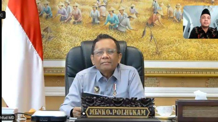 Menkopolhukam Gelar Halal Bi Halal Online dengan Sahabat Mahfud MD se-Indonesia, Ini yang Dibahas