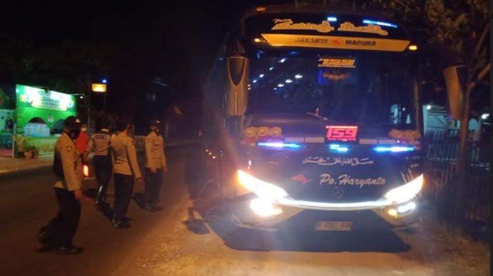 Travel Gelap Jangan Coba Angkut Pemudik ke Madura, Bila Ketahuan Mobil Akan Disita Polisi