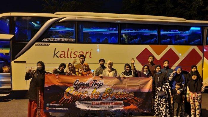 Travel di Pamekasan Bangkit saat PPKM Level 1, Dirut Enka Wisata Madura Open Trip Goes to Bromo