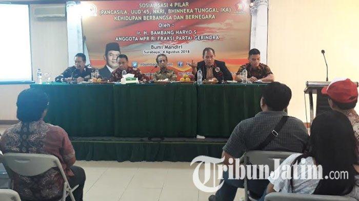 Anggaran Sudah Jelas, Bambang Haryo Minta Pemerintah Ikut Sosialisasikan 4 Pilar Kebangsaan