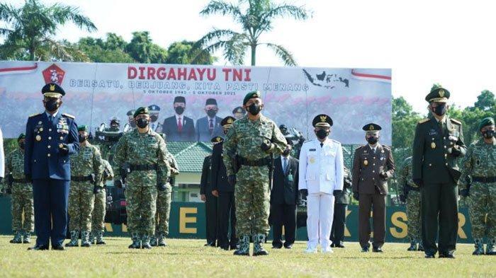 HUT TNI ke-76, Divisi Infanteri 2 Kostrad Gelar Upacara Peringatan Secara Virtual
