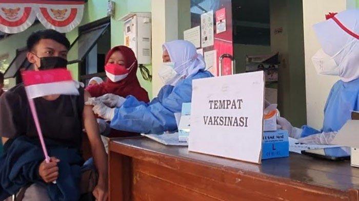Warga Gempol Pasuruan Tunjukan Antusias Ikuti Vaksinasi, Camat: Ikhtiar Percepat Herd Immunity