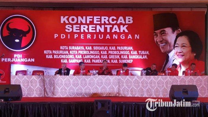 Patuh Rekom Megawati Soekarnoputri, Caleg Terpilih PDIP Kota Surabaya Setujui Hasil Konfercab