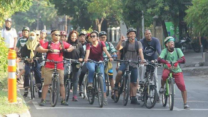 Gowes Tren di Tengah Pandemi Covid-19, Bonek SubCyclist: Mimpi 'Wani Mancal' Jadi Kenyataan