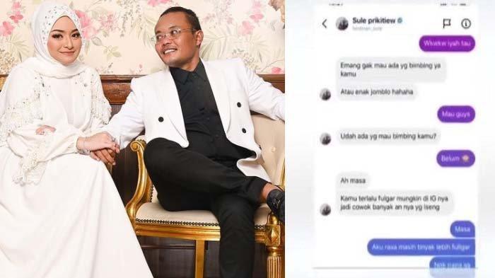 Pantas Nathalie Nangis? Chat Sule dan Cewek Lain Bocor, 'Terlalu Vulgar', Si Model: Mau Ngebimbing