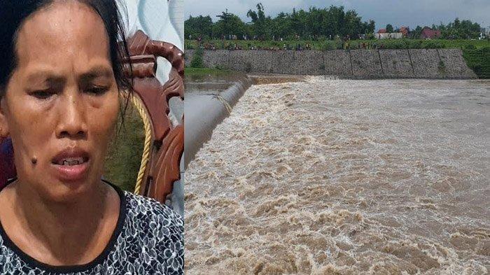 Cerita Istri Korban Perahu Tenggelam di Sungai Brantas Jombang: Lemas Dengar Perahu Suaminya Hanyut
