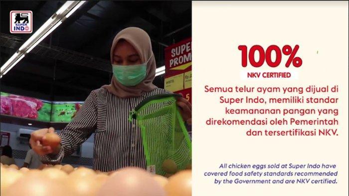 Jelang Idul Fitri 1442 H, Super Indo Jamin Produk Hewani di Gerainya Penuhi Standar Keamanan Pangan