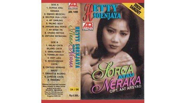 Download Lagu MP3 'Surga atau Neraka' Hetty Soendjaya, Lagu Dangdut Era 90-an yang Viral di Tik Tok!