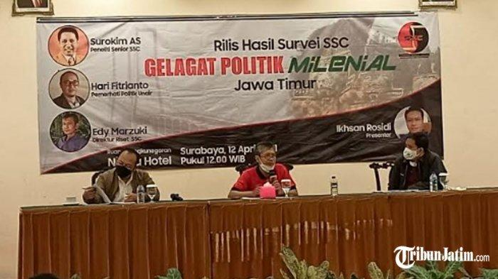 Hasil Survei, PDI Perjuangan Masih Kokoh Jadi Parpol Pilihan Millenial Di Jawa Timur