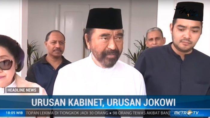 PDIP Blak-blakan Minta Jatah Kursi Menteri Terbanyak, Surya Paloh & Airlangga Pasrah:Terserah Jokowi