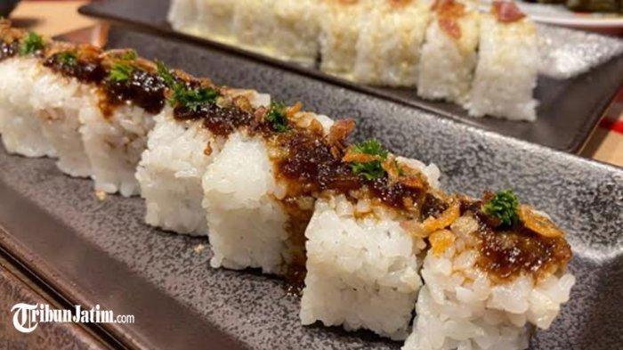 Icip-icip Opor, Semur dan Balado Dalam Balutan Sushi Khas Jepang, Menu Ramadan 2021 Genki Shushi