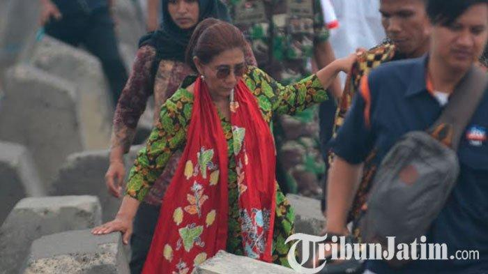 Reaksi Menteri Susi Pudjiastuti Seusai Dikritik Nelayan di Depan Jokowi