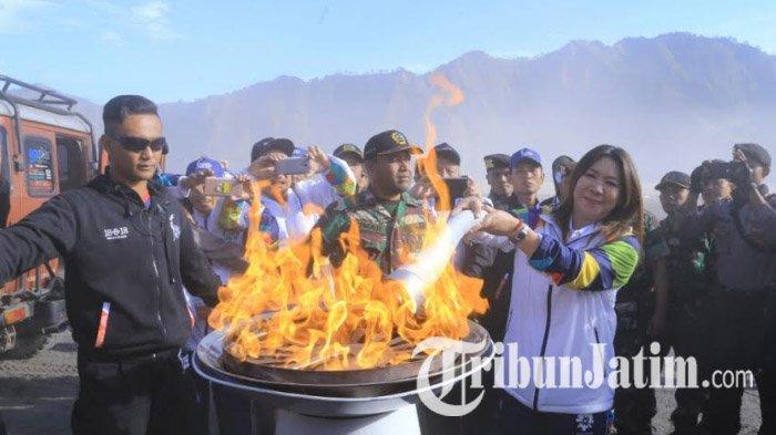 Rencana Pawai Obor Asian Games 2018 di Gunung Bromo Berantakan
