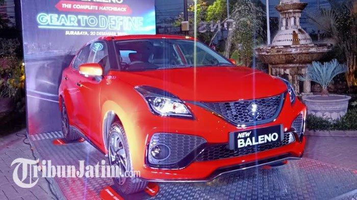 Suzuki New Baleno Resmi Mengaspal di Surabaya, Dibanderol Mulai Rp 231 Juta dengan 5 Pilihan Warna