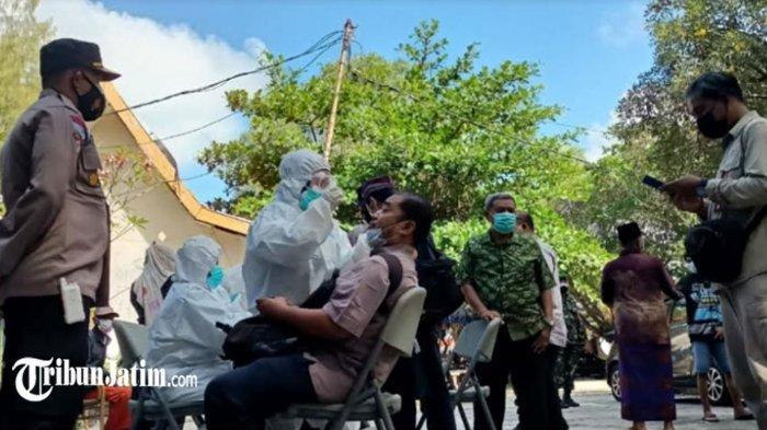 Hasil Pelebaran Wilayah Penyekatan di Sampang, Ditemukan Pengendara Asal Pamekasan Reaktif Covid-19
