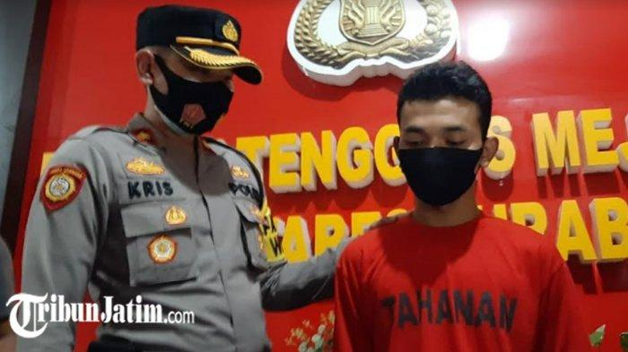 Kuras Tabungan Teman Rp 4,5 Juta untuk Main Judi Online, Pria Ini Dikeler ke Polsek Tenggilis Mejoyo