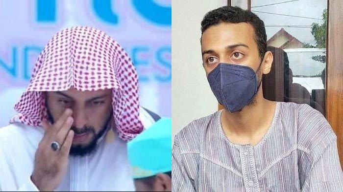 Hasan Tahan Tangisnya Kabulkan Permintaan Terakhir Syekh Ali Jaber saat Imami Salat: Beraniin Diri