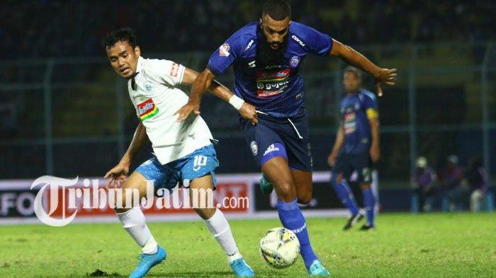 PSIS Semarang Vs Arema FC, Gol Hari Nur Yulianto Buat Singo Edan Tertinggal Sementara 0-1