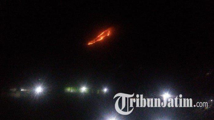Lahan Hutan Gunung Panderman di Kota Batu Terbakar Hebohkan Warga, 2 Pendaki Belum Bisa Dihubungi