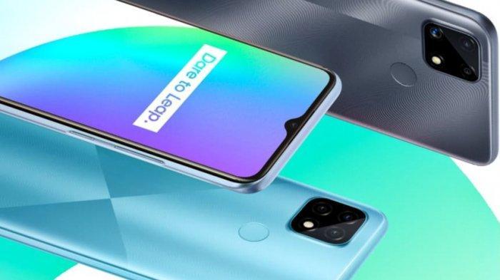 Duo Smartphone Realme Tahan Banting Turun Harga, Ini Spesifikasi C21 dan C25