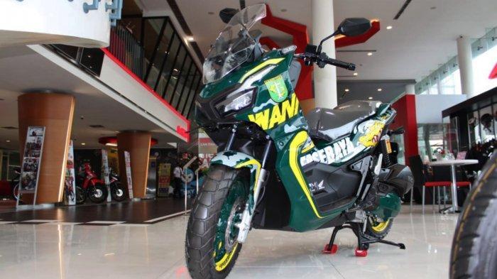 Desain Berkarakter Bonek, MPM Lelang Motor Honda ADV150 Modif Persebaya: Dibuka Seharga 19.271.927
