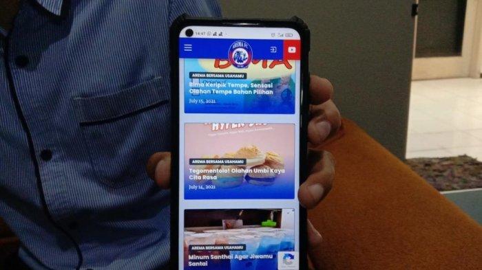 PPKM Darurat, Arema FC Sulap Situs Resmi Jadi Sentra Penjualan UMKM