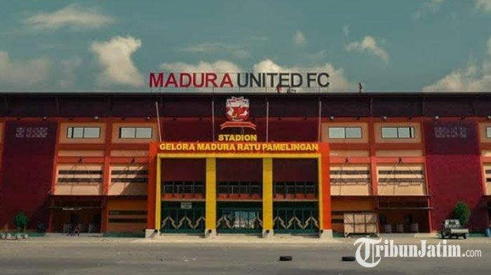 Intip Tampilan Baru Stadion Gelora Madura Ratu Pamelingan, Ada Tulisan Nama & Logo Madura United FC