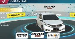 Honda Ajak Para Mobile Game Balapan di Atraksi Slalom Virtual Honda Brio