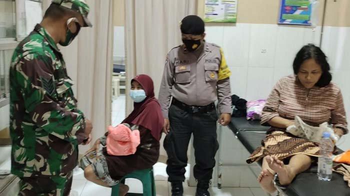 Sedang Olahraga, TNI Trenggalek Dengar Teriakan, Ternyata Ibu Melahirkan di Kamar Mandi, Sigap Bantu