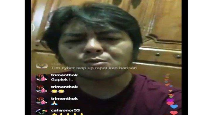 Viral Siaran Langsung di IG, Diduga Putra Kiai Jombang Diskreditkan Polisi & Tepis Kasus Percabulan