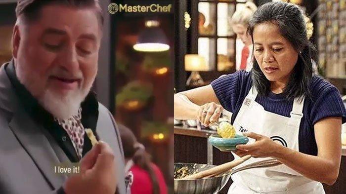 Masak Peyek Kacang, Tati Carlin Peserta MasterChef Australia Asal Indonesia Dikomentari Chef Dunia