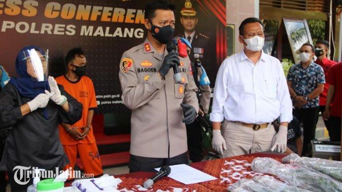 Berniat Jadi Petani, Pria Asal Lumajang Malah Tanam Ganja, Jual Hasil Panen ke Kabupaten Malang