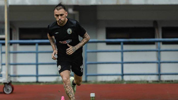 Laga Pamungkas Fase Grup, Nicolas Velez Bertekad Bawa PS Sleman Tumbangkan Persebaya Surabaya